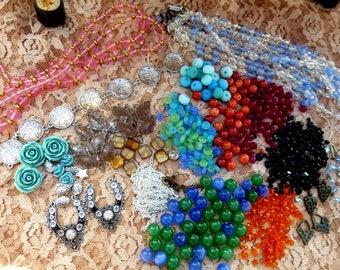 Jewelry, Destash, Beads, Craft Supplies, Mixed Media, Inspirations, DIY, Art Supplies, Accessories, Victorian