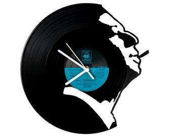 Vinyl clock Serge Gainsbourg