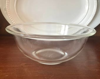 Vintage Pyrex Clear Mixing Bowl 1.5L 323