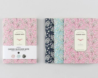 Floral Mini Note- Set of 3