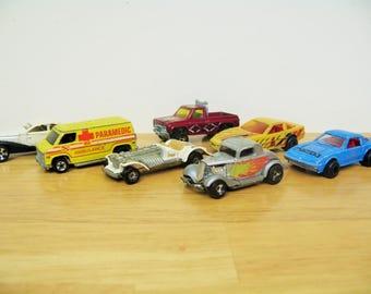 Vintage Hotwheels and Majorette Car Lot