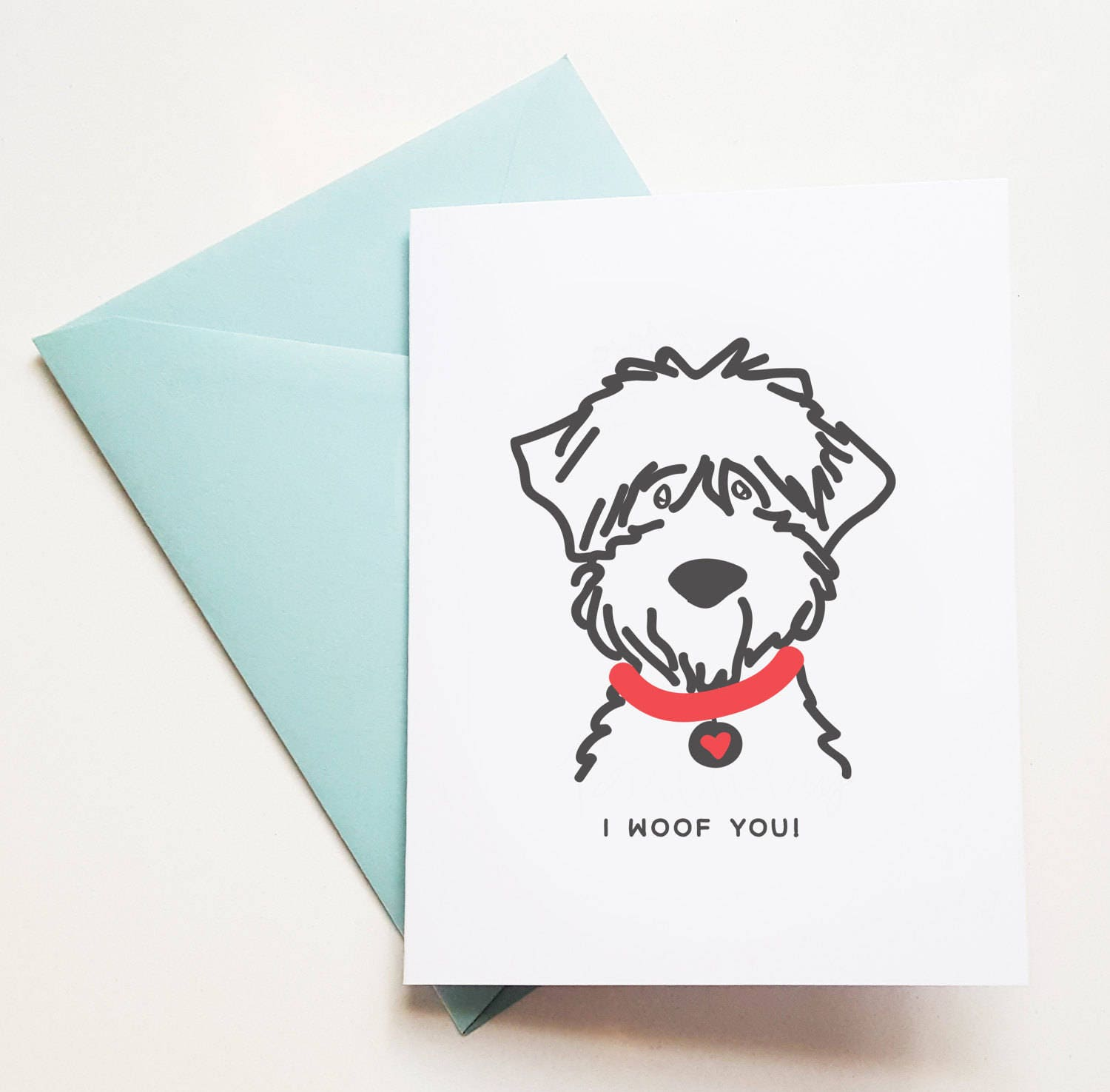 Birthday card from dog to mom or dad Cards from dog birthday – Birthday Card from Dog