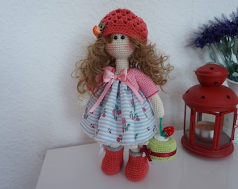Doll handmade / Doll crochet  * Ready to ship*