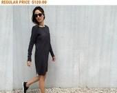 SALE - Long Sleeve Dress, Midi Dress, Short Dress, Black Dress, Jersey Dress, Casual Dress, T Shirt Dress, Straight Dress, Sweater Dress