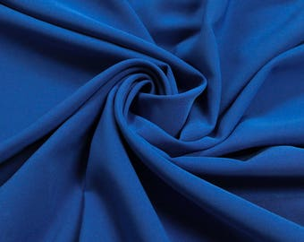 Royal Neon 4-Way Twill Stretch Fabric by the Yard - Style 597