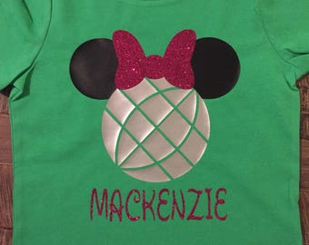 Youth EPCOT Minnie Shirt