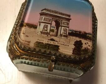 Paris Arc de Triomphe jewelry casket