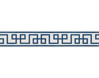 "Mary McDonald for Schumacher 6"" wide ""Octavius""  Flat Trim by the yard"