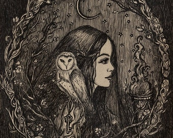 The Priestess of Hecate