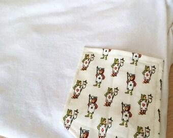 Wonderland Playing Cards Tee Pocket