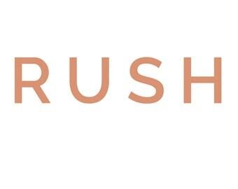 Rush Order Add On  |