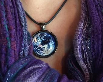 Earth Day Planet Earth Pendant