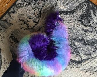 Husky fursuit costume tail