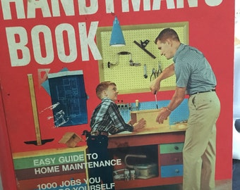 Better Homes and Gardens Handyman's Book, vintage reference book