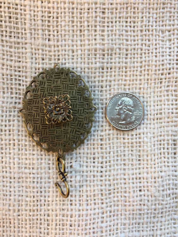 Knitting Pin - Magnetic Knitting Pin for Portuguese Knitting -  Semi precious Stone