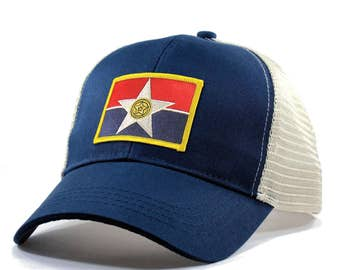 Homeland Tees Dallas Flag Hat - Trucker