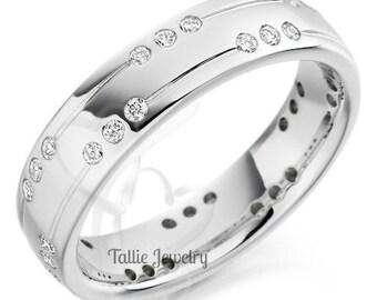 Platinum Mens Wedding Bands,Platinum Diamond Wedding Rings,Matching Wedding Bands