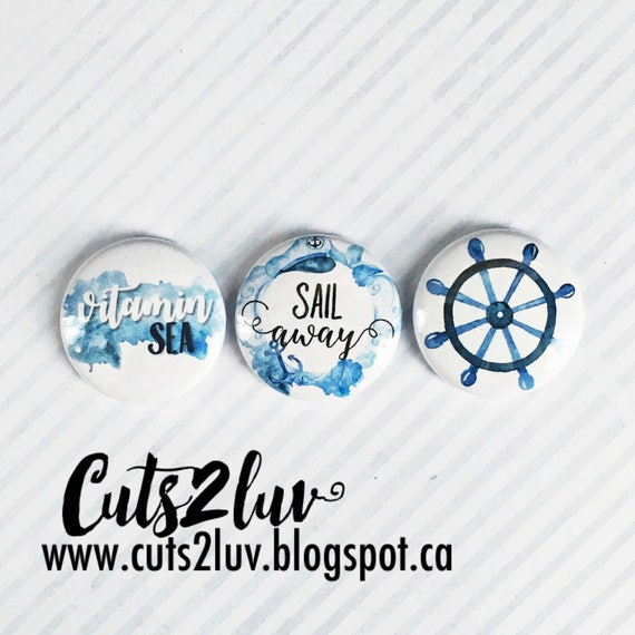 "3 badges 1 ""Sail away"
