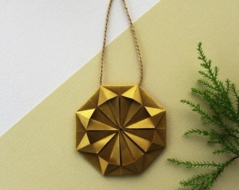 Gold Geometric Ornament