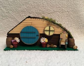 SALE Miniature Hobbit House