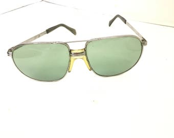 Vintage Sunglasses / Italian Sunglasses / safilo sunglasses / vintage aviator sunglasses / 70s sunglasses