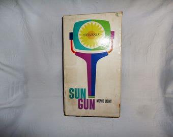Vintage Sylvania Sun Gun Movie Photography Light Original Box