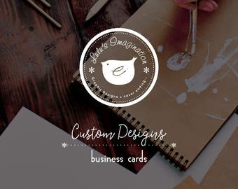 Custom Design - Business Card Design