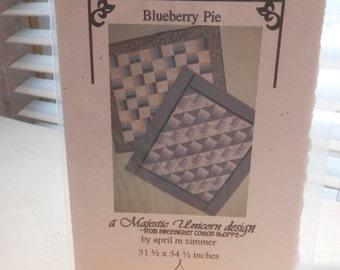 Blueberry Pie quilt pattern
