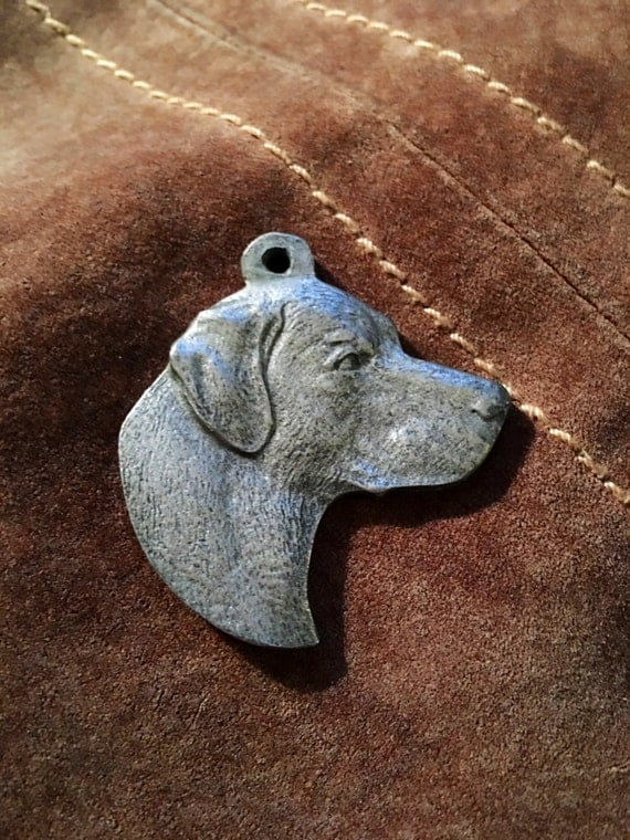 Vintage 1982 I Love My Labrador Retriever dog tag