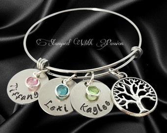 Mom Gift - Mothers day Bracelet, Mom Bracelet, Bracelet for Mom, Gift for her, Grandmother, gift for grandma, Mom Jewelry