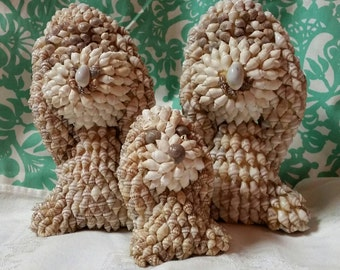 Seashell Dogs Set of 3