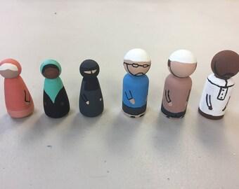 Muslim Peg People