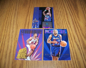 3 Damon Stoudamire (Toronto Raptors) Basketball Cards