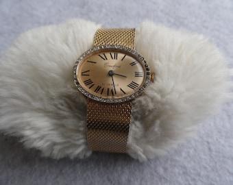 Crawford 21 Jewels Vintage Wind Up Ladies Watch