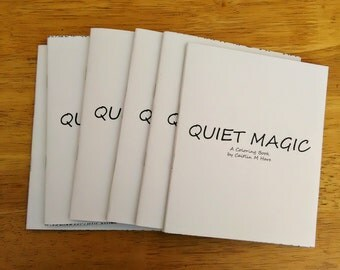 Quiet Magic: Coloring Book