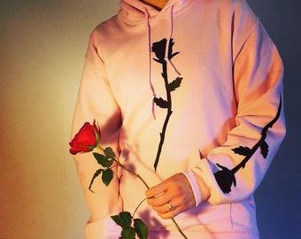 Rose Hoodie (Pink)