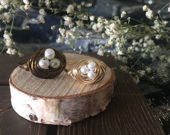 Bird's Nest Wire Wrapped Ring