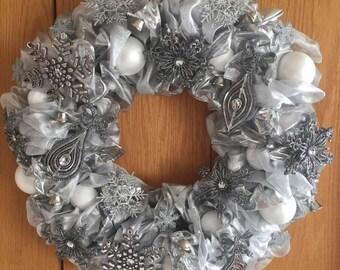 Christmas Elegance for your door!