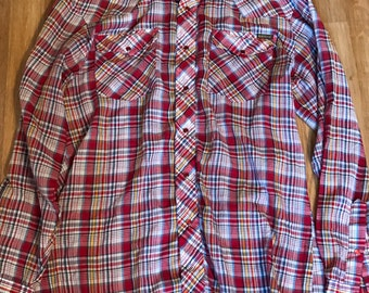 Mens Sears Rowbucks weatern shirt (M)