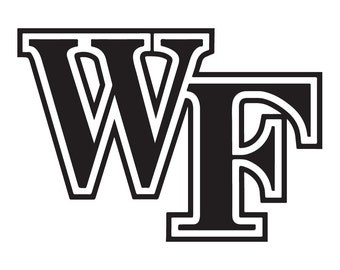 Wake Forest Vinyl Sticker