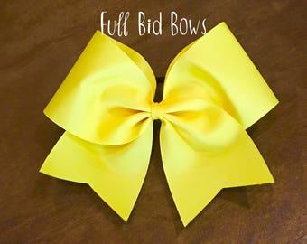 Practice Cheer Bow - Yellow