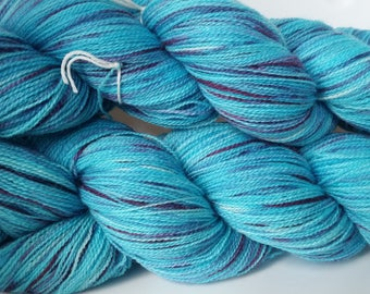 Princess Glimmer - hand painted lace weight merino