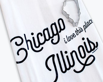 Tea Towel & Cookie Cutter Bundle - Chicago