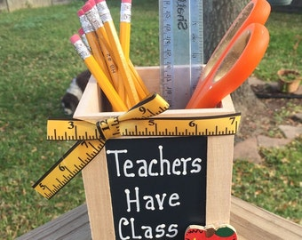 Teacher Gift  913502DC  Teachers Have Class Pencil  Box