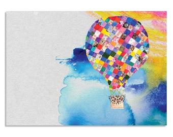 Patchwork - A3 Art Print | Made in Australia