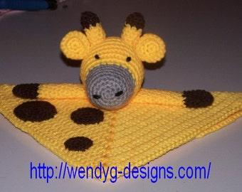 Giraffe Lovey/Security Blanket