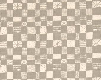 Cotton and Steel Printshop Alexia Abegg Grid Grey 4037-001 BTY 1 Yd
