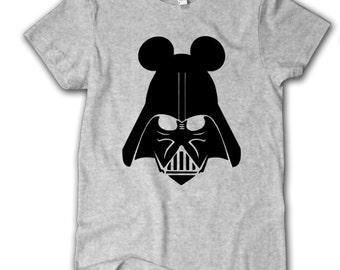 Darth Vader Mickey Ears, Star Wars shirt, Disney fan shirt, Youth, Disney parks shirt, Disney shirt, Disney World Shirt