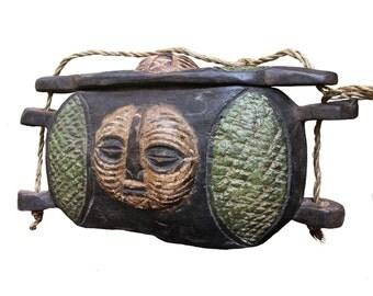 Kuba Bag with lid , Congo