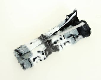 Padded Seat Belt Strap Cushion/Minky Shoulder Pad